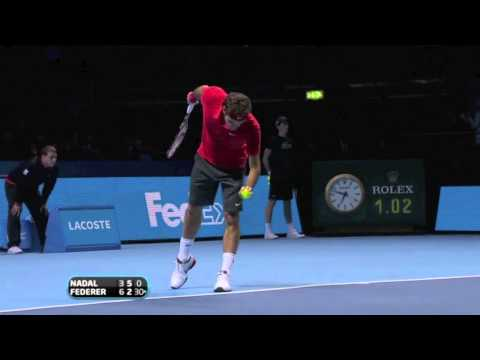 Federer vs Nadal 2010 ATP World Tour Finals HD Highlights
