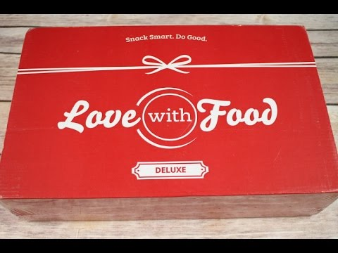 Love with Food November 2016 Deluxe Box Unboxing + Coupon #lovewithfood
