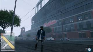 Watch Dogs 2 - Rain Gameplay | Free Roam Gameplay (PC HD) [1080p60FPS]