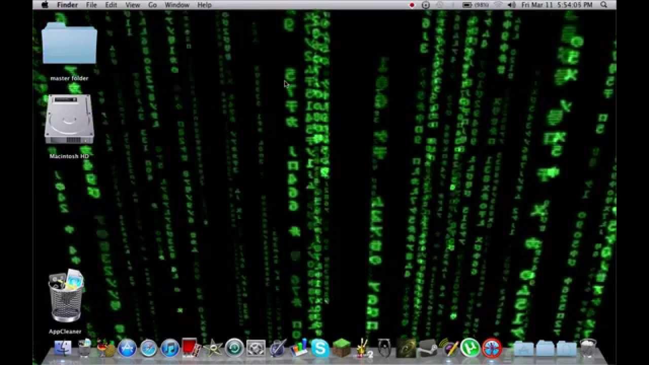 animated matrix wallpaper for mac