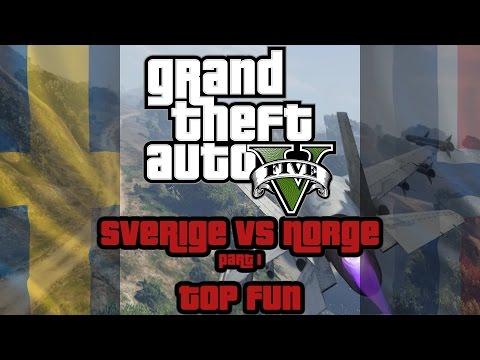 Grand Theft Auto 5 Online (PC) - Sweden vs Norway Part 1: Top Fun