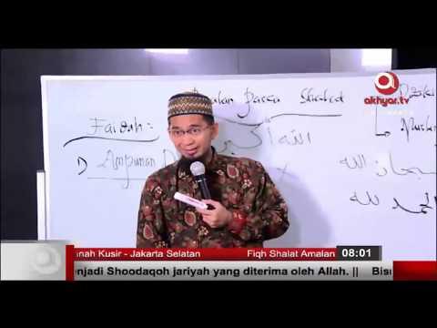 Dzikir Setelah Shalat : Manfaat Subhanallah, Alhamdulillah, Allahu Akbar (Part 3) - Ust. Adi Hidayat