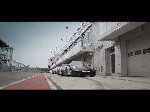 Porsche Festival 2014 on the Moscow Raceway Track