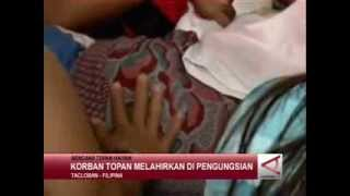 Repeat youtube video korban topan melahirkan 'Topan Haiyan'