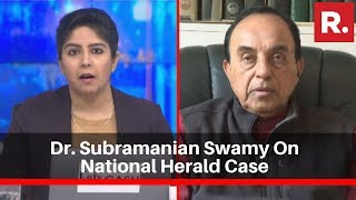 National Herald Case: Dr. Subramanian Swamy Speaks To Republic TV Over Court's Cross Examination