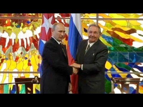 Putin se reúne con Fidel Castro