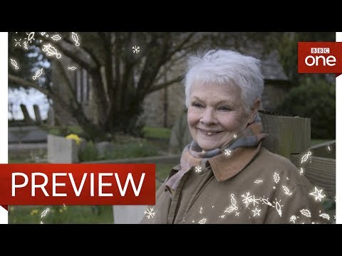 1500 year old yew tree - Judi Dench: My Passion For Trees: Preview - BBC One