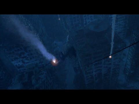 Waterworld (1995) clip underwater world HD 1080p