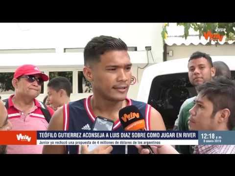 A donde vaya Luis Díaz, Junior lo va a respaldar: Téofilo Gutiérrez