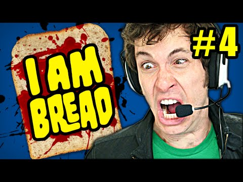 I AM BREAD Gameplay Part 4 - STICKY STUFF - Let