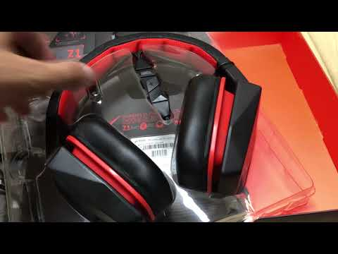Unboxing Lenovo Y Gaming Surround Sound Headset