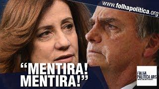 Bolsonaro desmascara Miriam Leitão, chama de mentirosa e dá lição para a Rede Globo
