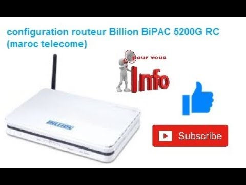 BILLION BIPAC 5200G RD TELECHARGER PILOTE