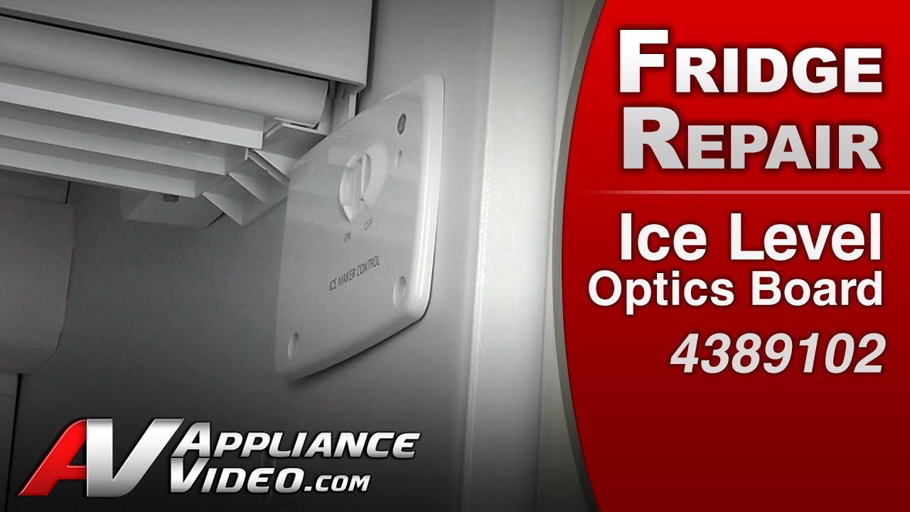 Ice Maker Not Making Or Dispensing Ice Level Optics Board