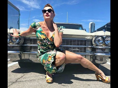 Viva Las Vegas Classic Cars and Pool Party 2019 Tiki Rockabilly Weekend