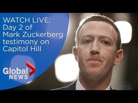 Facebook CEO Mark Zuckerberg's FULL testimony to U.S. congress members