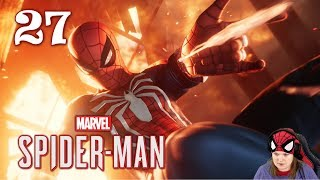 "Spiderman (PS4) - Part 27 ""City On Fire"""
