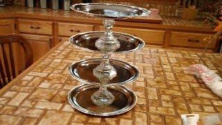 DIY Tiered Jewelry Trays