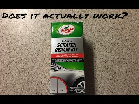 Does A Scratch Repair Kit Work?