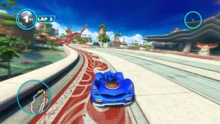 Repeat youtube video Sonic & All-Stars Racing Transformed - Gameplay Ocean View race
