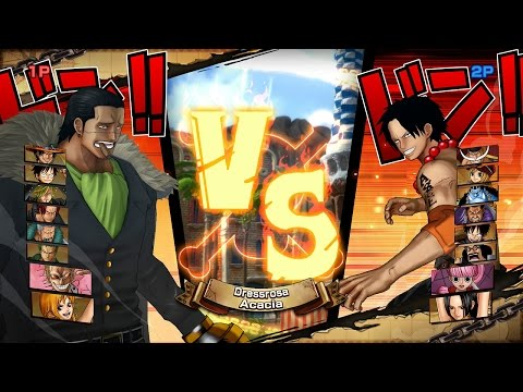 One Piece Burning Blood | 2 Player Gameplay - 9 VS 9 | ALL RANDOM #9