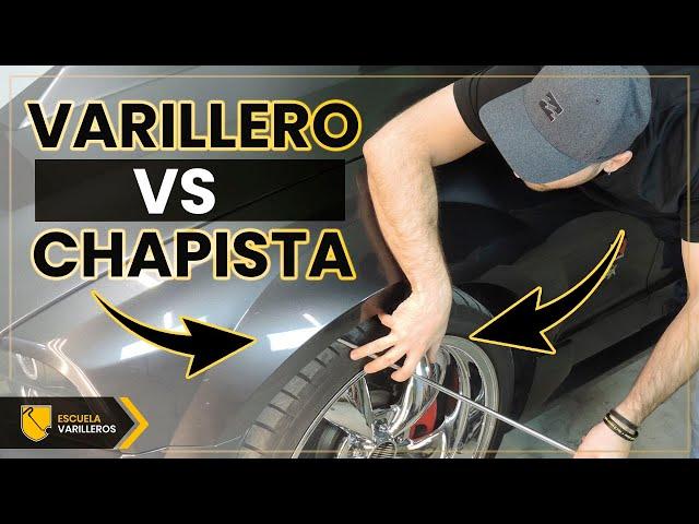 Diferencias entre Chapista y Varillero 🚗⚒️