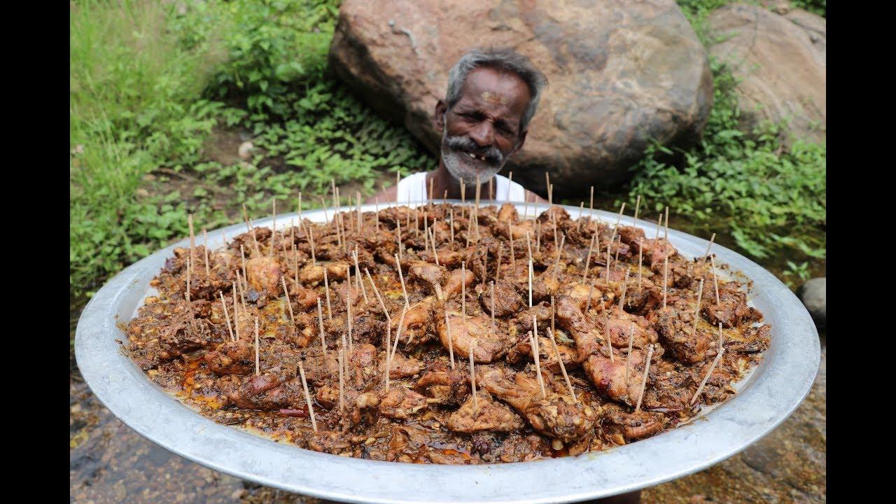 Chettinad Pepper CHICKEN Prepared my DADDY ARUMUGAM / Village Food Factory