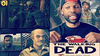 The Walking Dead Episode 1 Gameplay Walkthrough Part 1 - Introduction