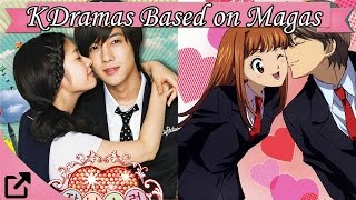 Top Korean Dramas Based on Maga & Anime