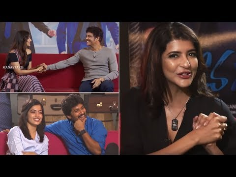 Manchu Lakshmi Hilarious Interview With Devadas Team | Nani | Nagarjuna | Rashmika | Aakanksha