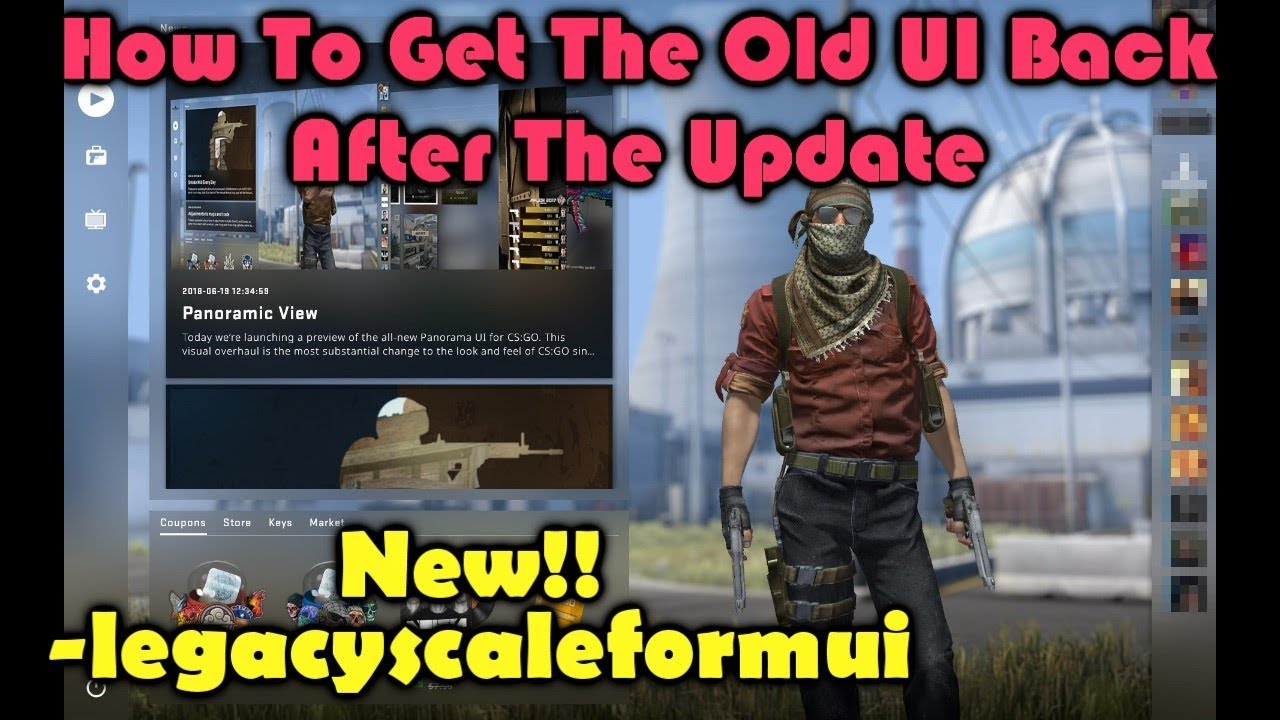 How to Enable/Disable Panorama UI in CS:GO 2018 (NEW UPDATED !!)