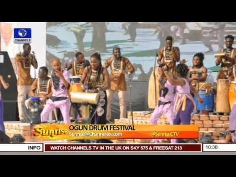 Sunrise: Ogun Commissioners On What To Expect At 2017 Drum Festival Pt 1