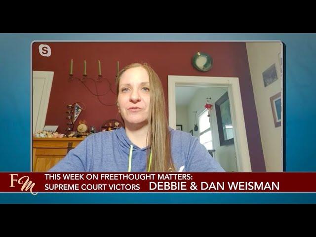 Debbie & Dan Weisman: Champions of the First Amendment