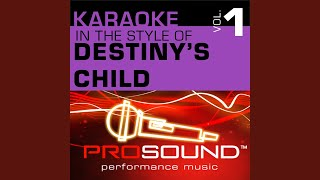 Emotion (Karaoke With Background Vocals) (In the style of Destiny