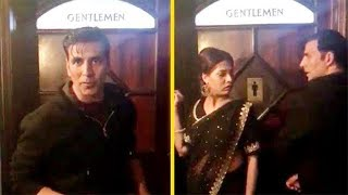Akshay Kumar's FUNNY Video Promoting Sidharth Jacqueline's A Gentleman | Toilet Ek Prem Katha