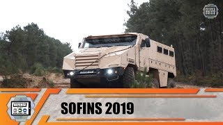 Special Forces Operations tactical and armored vehicles test drive and review at SOFINS 2019