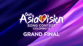 Own Asiavision Song Contest #12: Grand Final