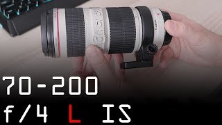 Canon EF 70-200 f/4 L IS review