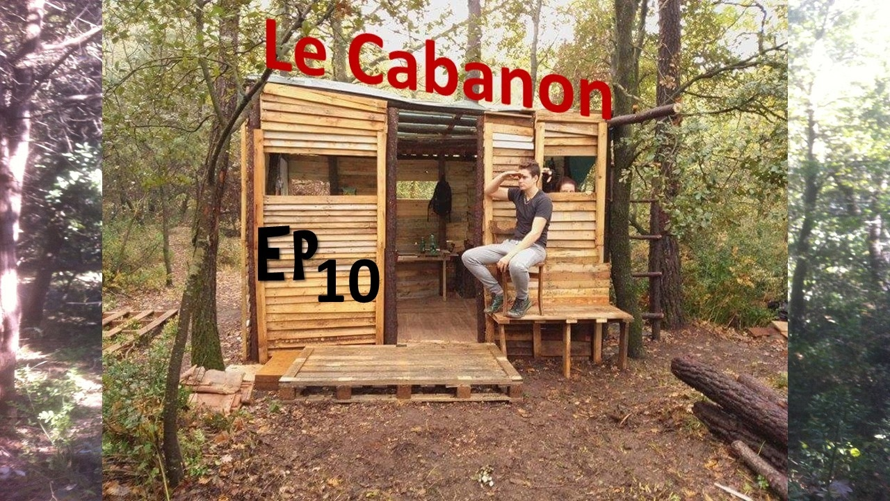 construire un cabanon ep 10 on approche de la fin youtube. Black Bedroom Furniture Sets. Home Design Ideas