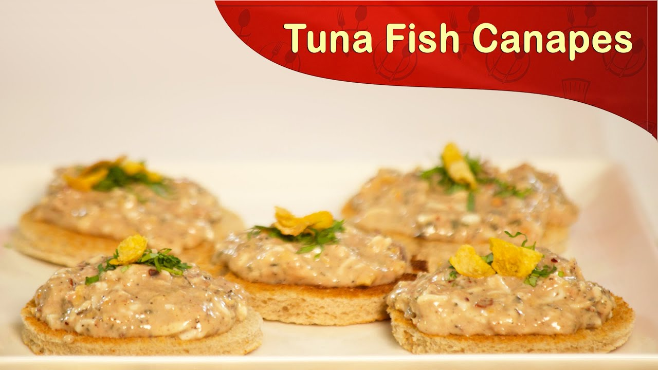 Tuna fish canapes how to cook tuna fish canapes fish for Canape receipes