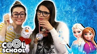 FROZEN Inspired Crafts!  DIY Snow Globe, DIY Olaf Ornament + MORE! | Cool School Compilation