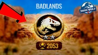 WBIJAMY 5 ARENKE! BADLANDS! JURASSIC WORLD ALIVE