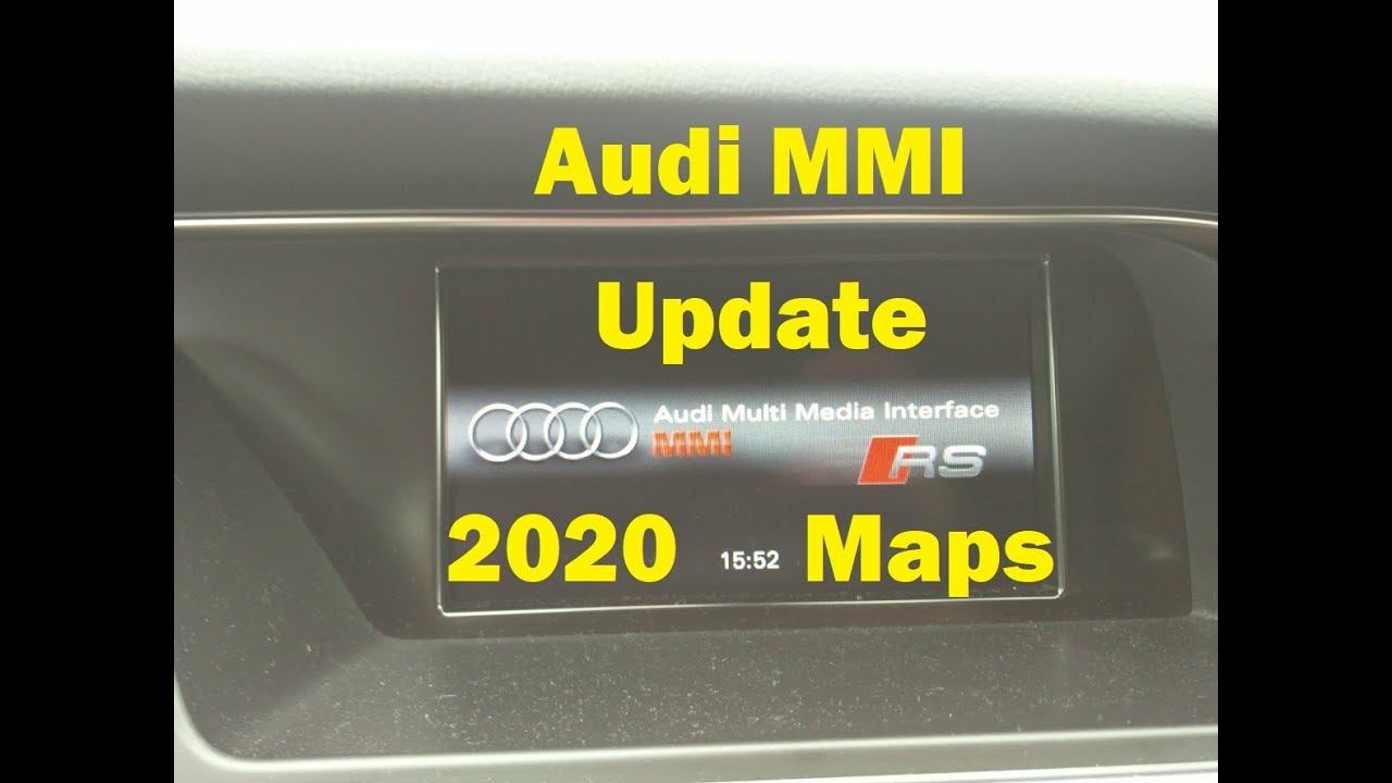 How to update audi navigation