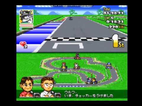 Asia GP (Crash Race) SD F1 Grand Prix SNES