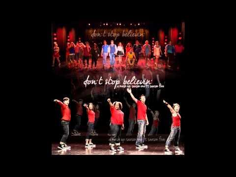 GLEE - Don't Stop Believing - Season 1 Vs. Season 5