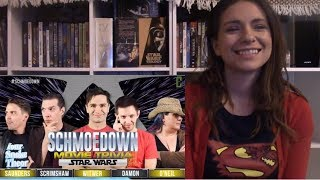 Star Wars Movie Trivia Schmoedown Fatal Five Way Reaction