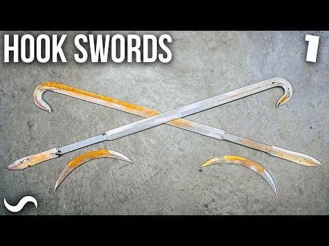 MAKING HOOK SWORDS!!! Part 1