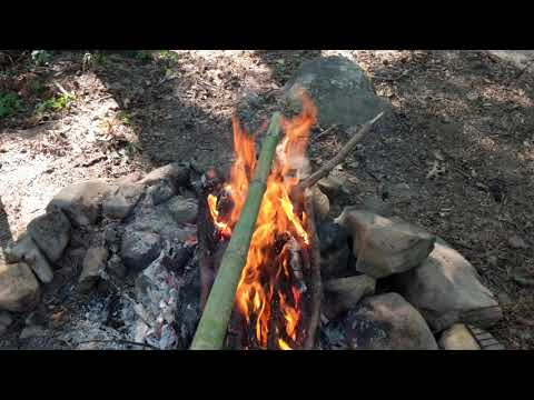 How To Heat Cure Bamboo Poles