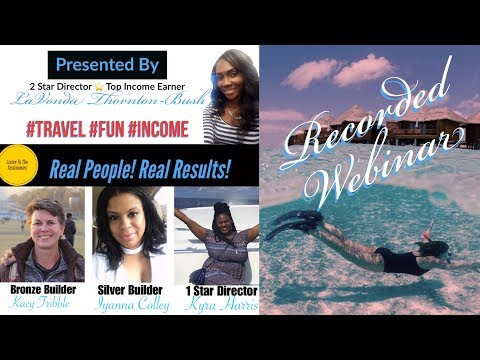 Real People! Real Results! Home Based Travel Agent Opportunity!