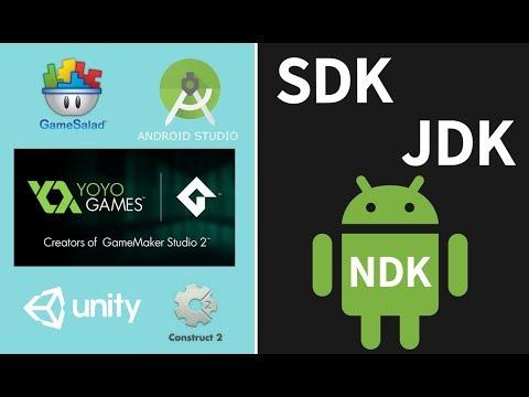Tutorial Como  Instalar SDK  ,NDK, JDK, Configurar Y Exportar Apk  Game Maker Studio(2017)